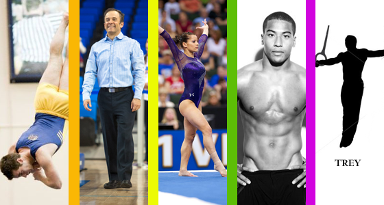 Alicia Sacramone straight athlete ally with gay gymnasts Josh Dixon, Evan Heiter and coach Randy Lane