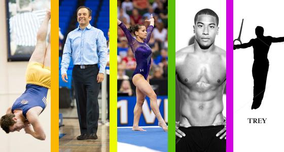 Alicia Sacramone straight athlete ally with gay gymnasts Josh Dixon, Evan Heiter and coach Randy Lane