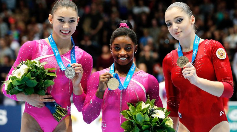 Simone Biles, World Champion!