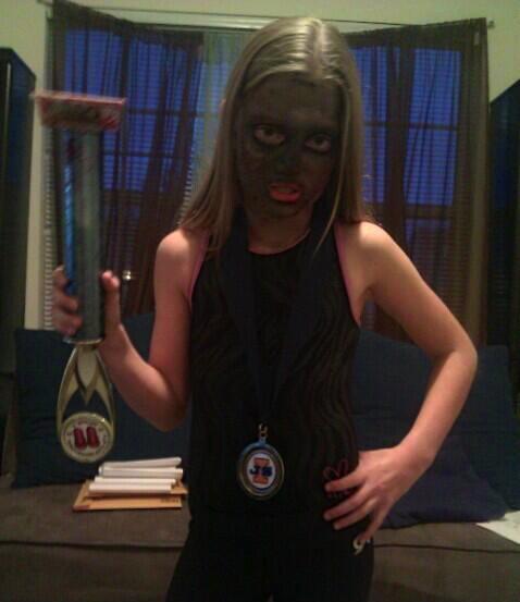 2013 Halloween Costume Contest winner