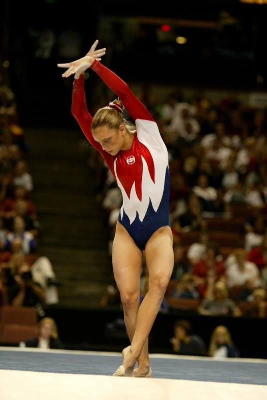 gymnast Terin Humphrey