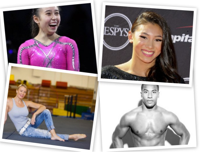 GymCastic's 6 Most Popular Episodes in 2013 - A Photo Collage