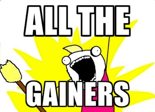 All The Gainers