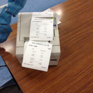 receipts for gymnastics meets
