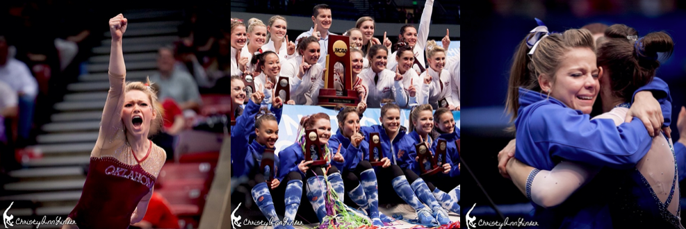 haley scaman, mackenzie caquatto, alaina johnson, florida, oklahoma, ncaa champions, 2014