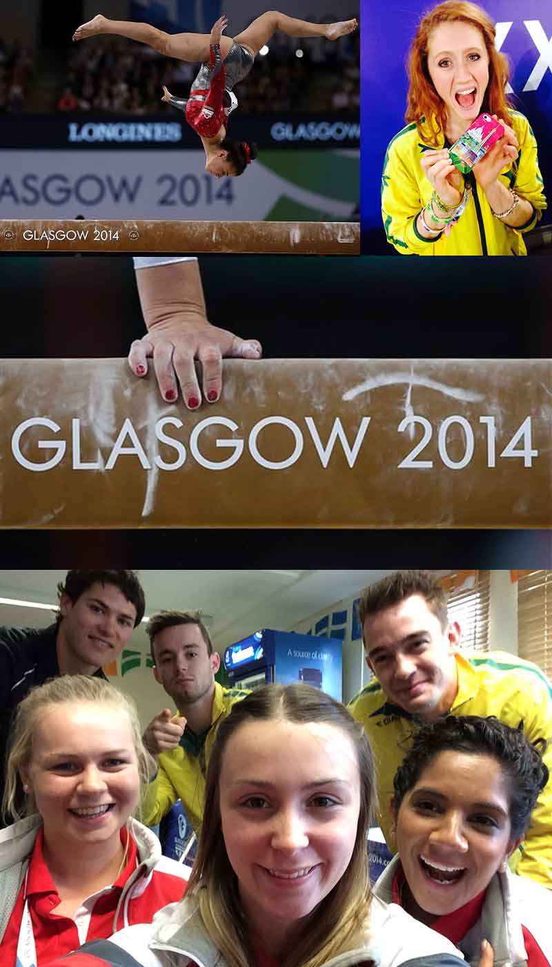 gymnastics podcast about glasgow 2014