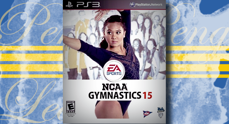 christine peng peng lee gymnast video game over art ea sports