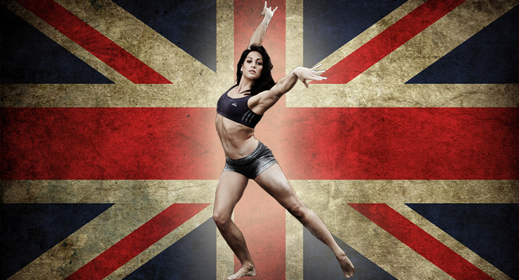 Lisa Mason, gymnast, model, olympian, British stunt woman