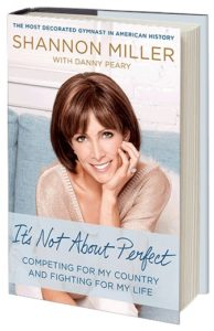 gymnast Bookcover on Shannon Miller It's not about perfect