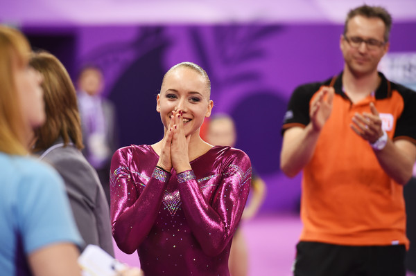 Lieke Wevers baku 2015 beam reaction