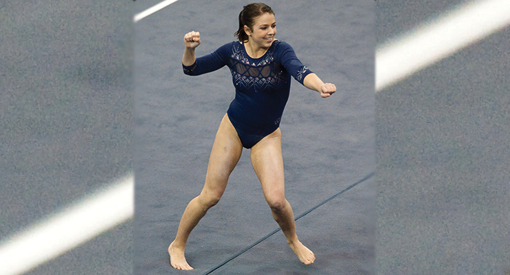 ariana berlin floor dance ucla gymnastics