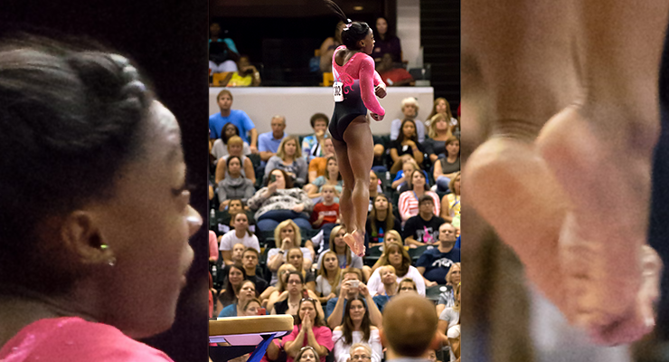 Simone vault 2015 pg championships pgchamps vault form mid air day one