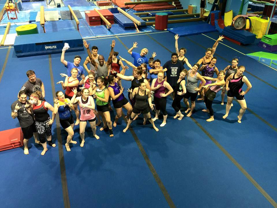 Adult Gymnastics Camp