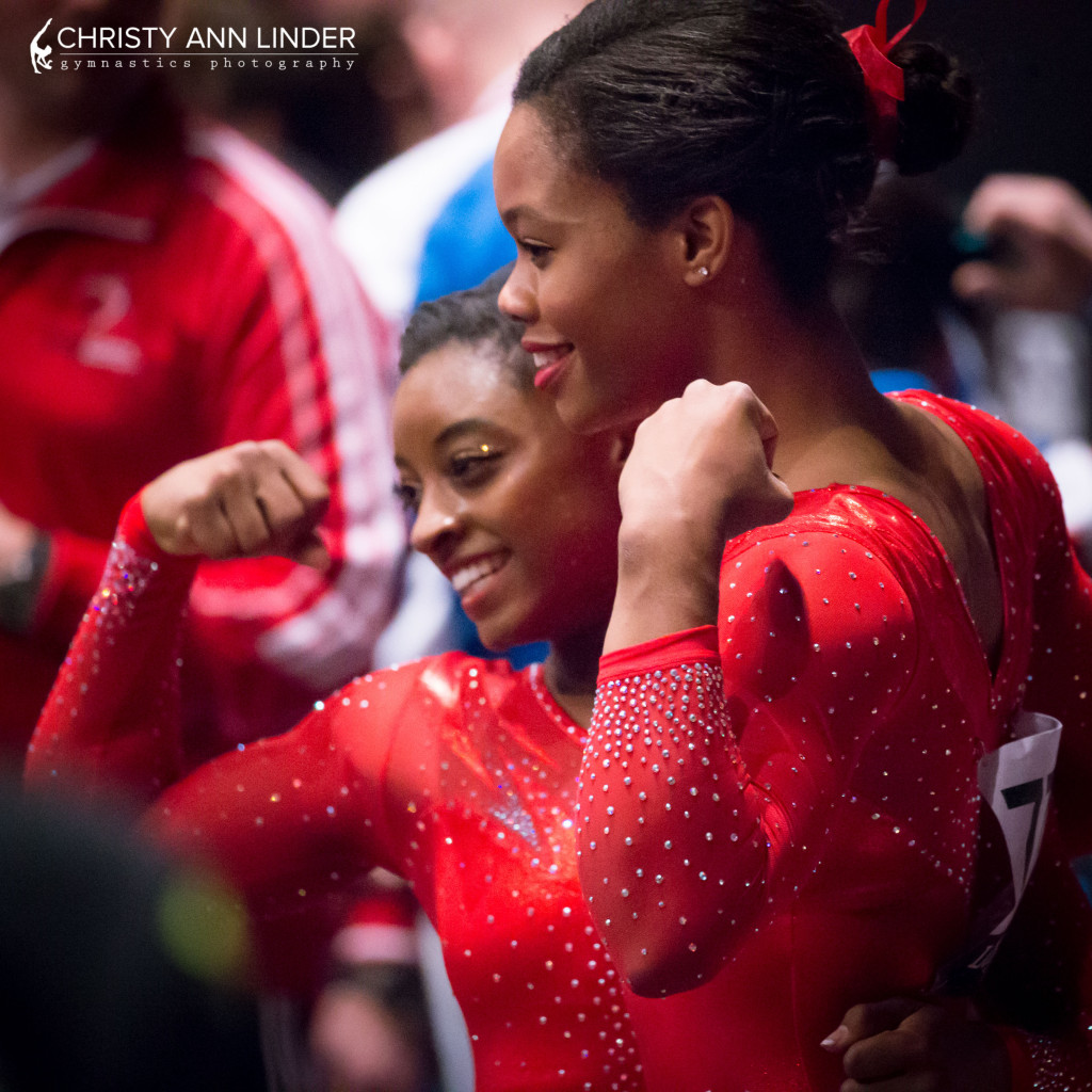 simone biles three time world champion gymnastics