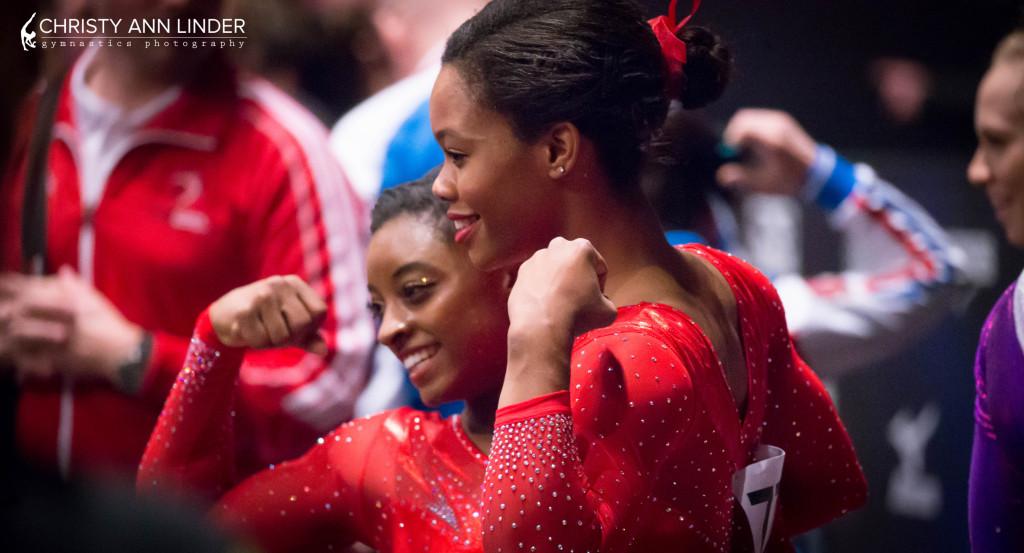 simone biles three time world champion gymnastics
