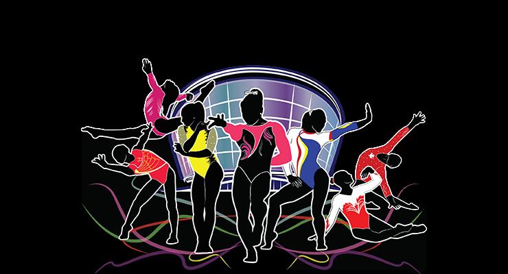 artistic gymnastic championships t-shirts 2015 glasgow