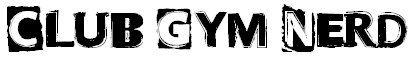 Club Gym Nerd Punk Font small
