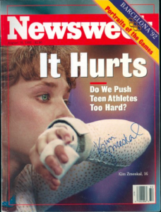 The team bronze was considered a disaster in 1992 rather than a huge success.