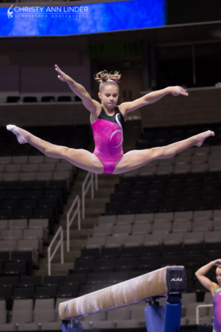 Ragan Smith on beam