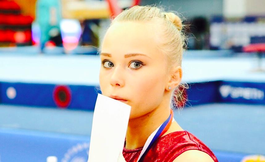 Russia's top gymnast, Angelina Melnikova.