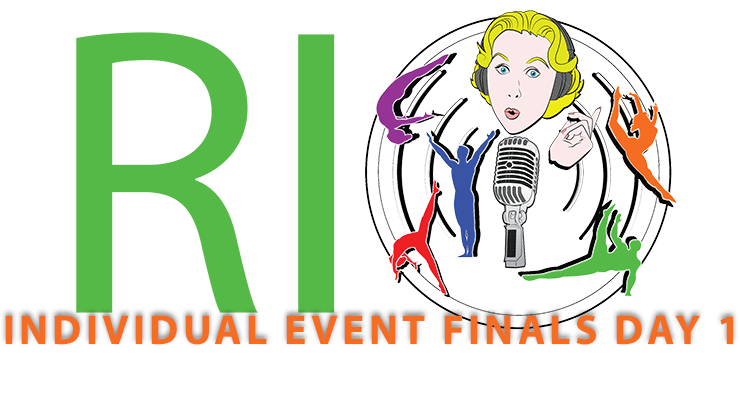 podcast Rio Olympic Event Finals Men's Floor , Women's Vault, Pommel Horse, Women's Uneven Bars