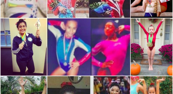 Simone Biles Halloween costumes from 2016.