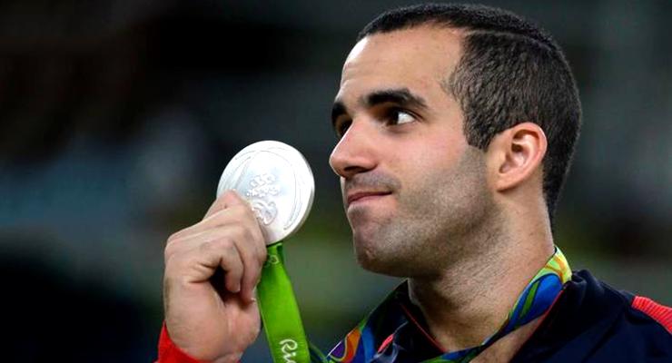 danell leyva silver medal rio olympics