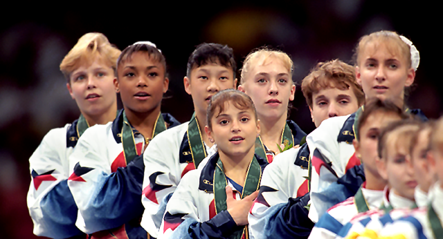 255: 1996 Olympic Team Final (Commissioned)