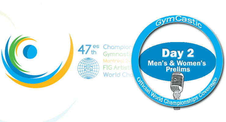 271: World Championships Day 2 — Men's and Women's Prelims