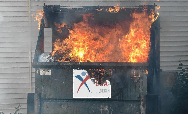 305: Kerry Perry Lights Dumpster Fire