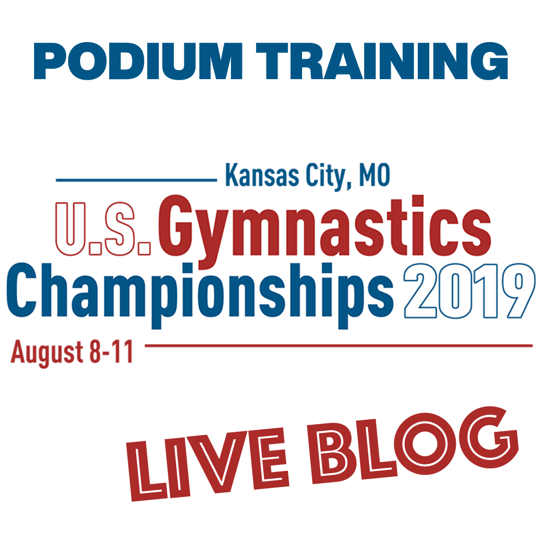 Live Blog: 2019 U.S. National Championships – Podium Training, August 7th