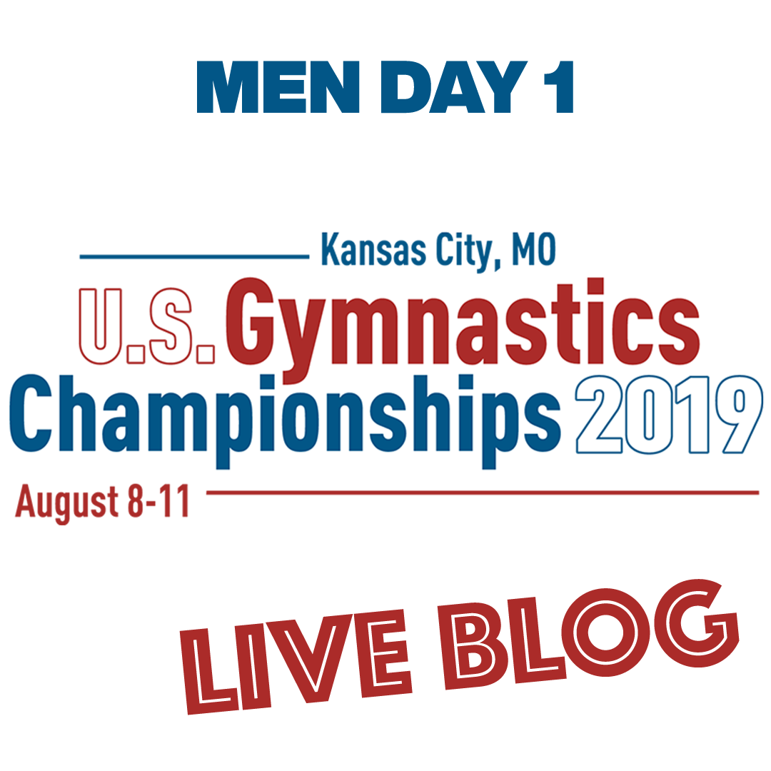 Live Blog: 2019 U.S. National Championships – Men Day 1, August 8th