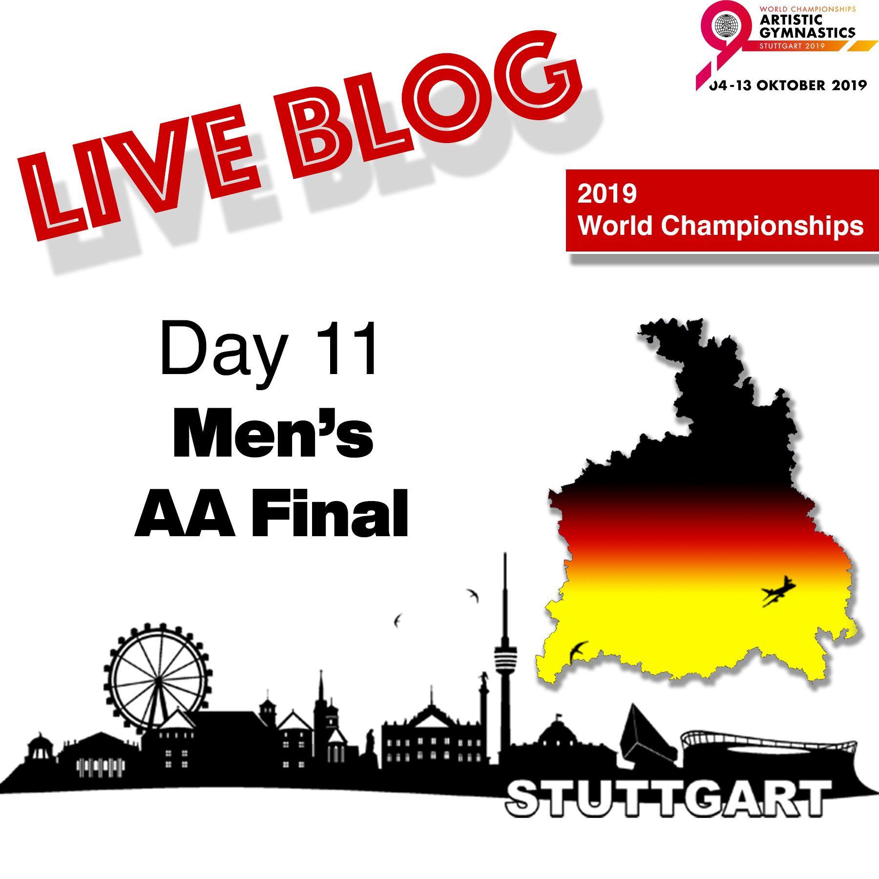 Live Blog: 2019 World Championships – MAG All-Around Final – Oct. 11th