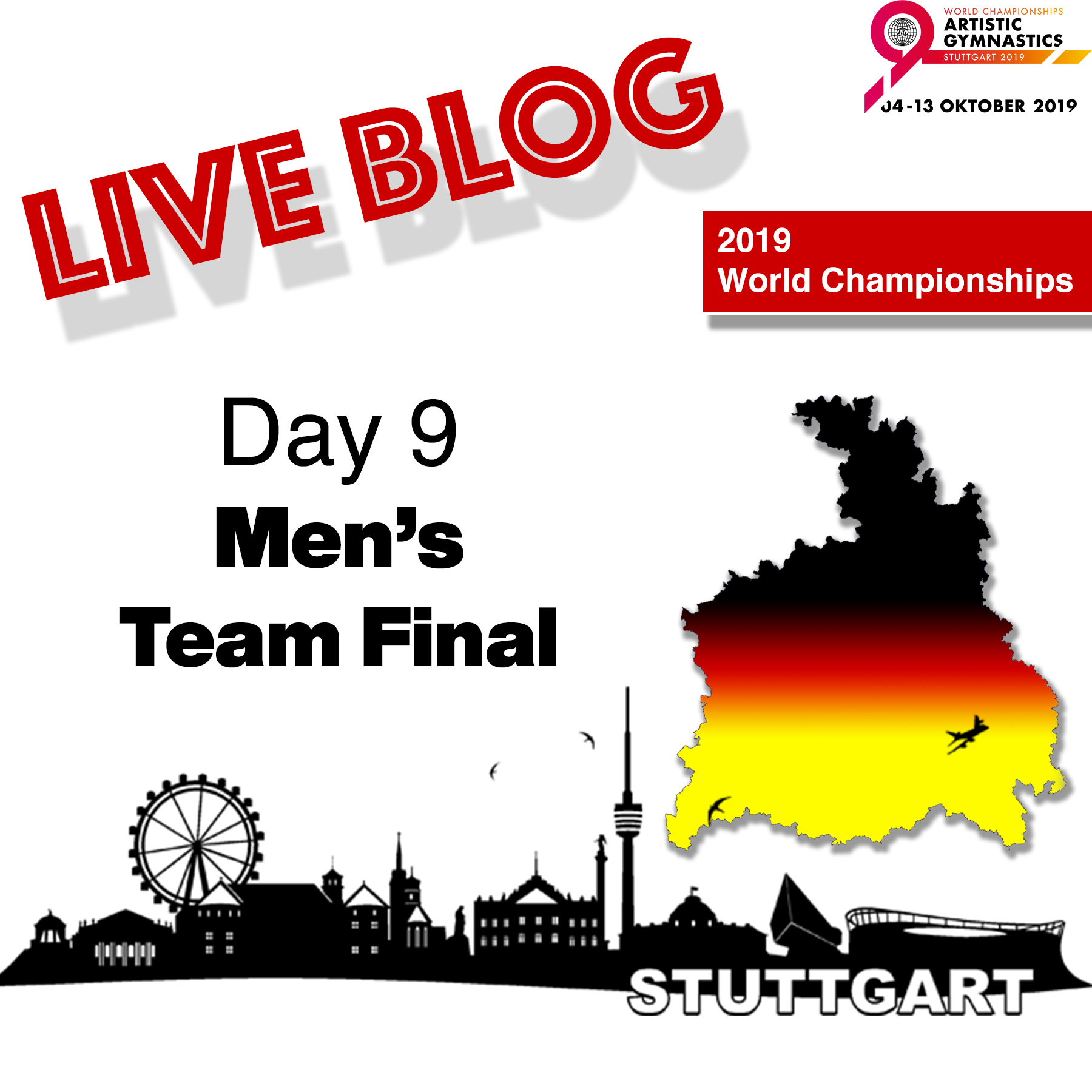 Live Blog: 2019 World Championships – MAG Team Finals, Oct. 9th