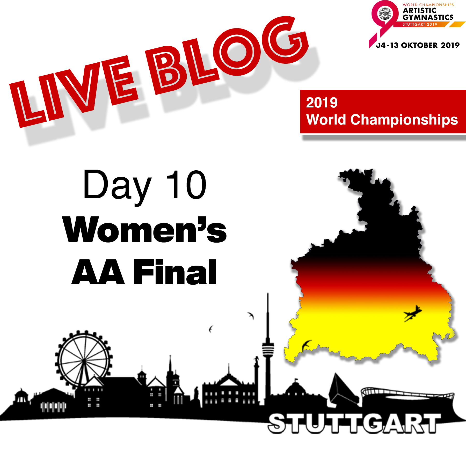 Live Blog: 2019 World Championships – WAG All-Around Final – Oct. 10th