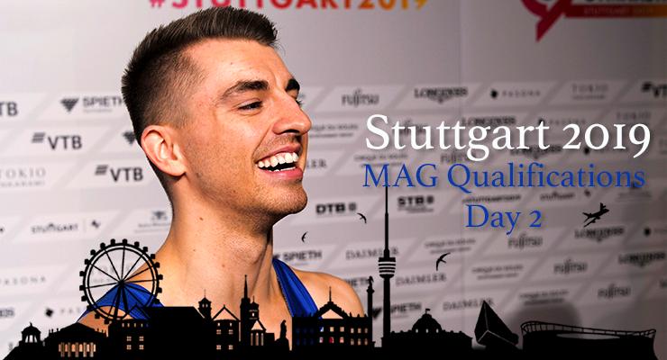 391: 2019 Worlds –Men's Qualification Day 2