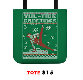 Yul-Tide Greetings Tote