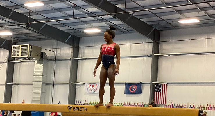 Behind The Scenes: Simone Biles Interview
