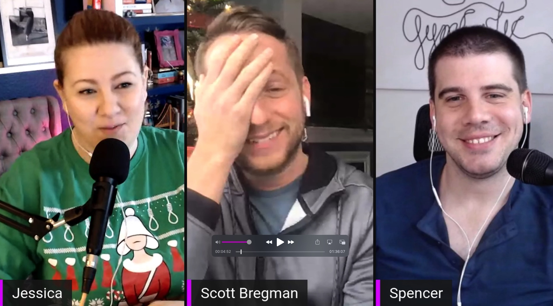 Behind The Scenes: Christmas with Scott Bregman
