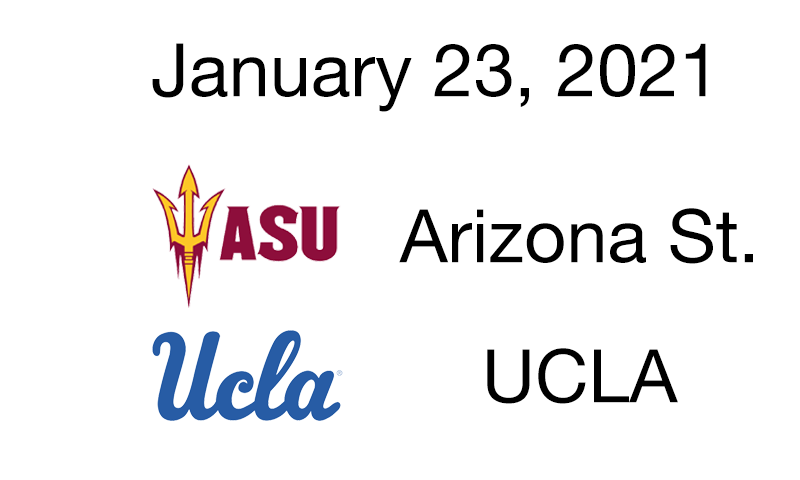 Live Blog: ASU vs. UCLA – January 23, 2021