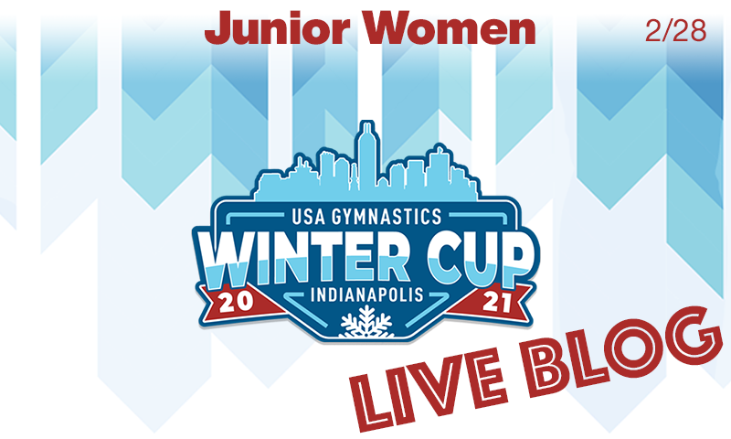 Live Blog: Winter Cup – Junior Women's