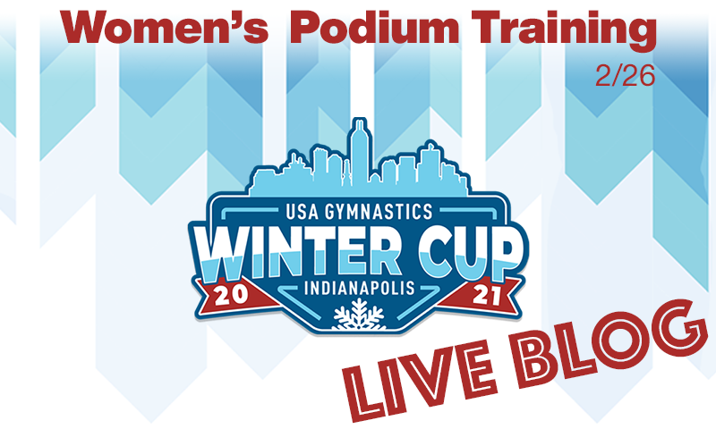 Live Blog: Winter Cup – Women's Podium Training