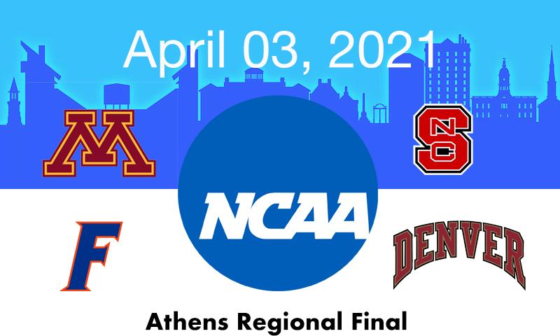 Live Blog: 2021 Athens Regional Final