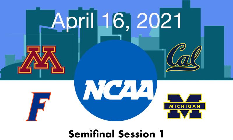 Live Blog: 2021 NCAA Championships Semifinal 1