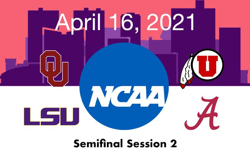 Live Blog: 2021 NCAA Championships Semifinal 2