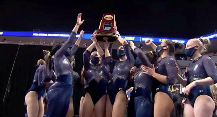 michigan womens gymnastics team win first ever ncaa championship