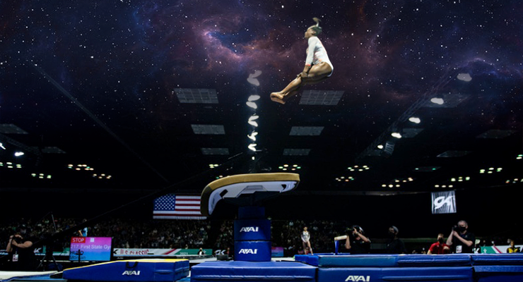 Simone Biles' Yurchenko Double Pike Has Landed and  US Classic Review