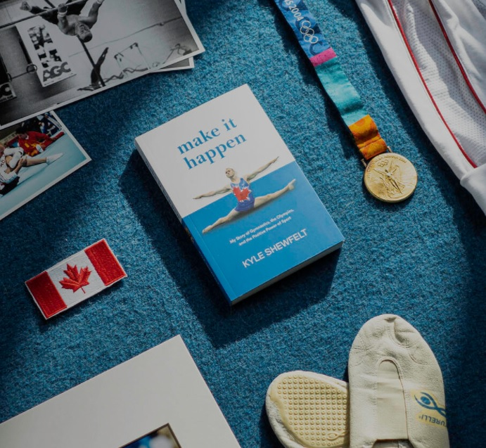 Kyle Shewfelt gymnastics memoire