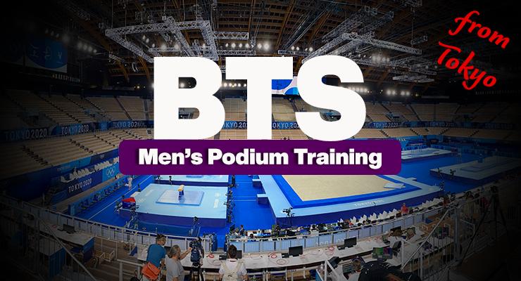 Tokyo 2020: MAG Podium Training