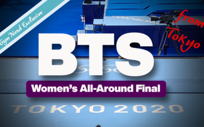 Behind The Scenes: Tokyo Olympics Women's All-Around Final
